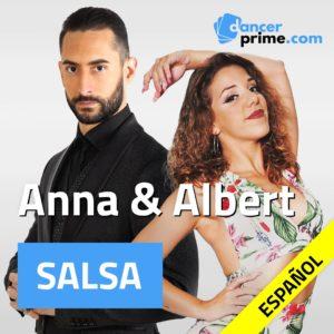 Anna y Albert salsa