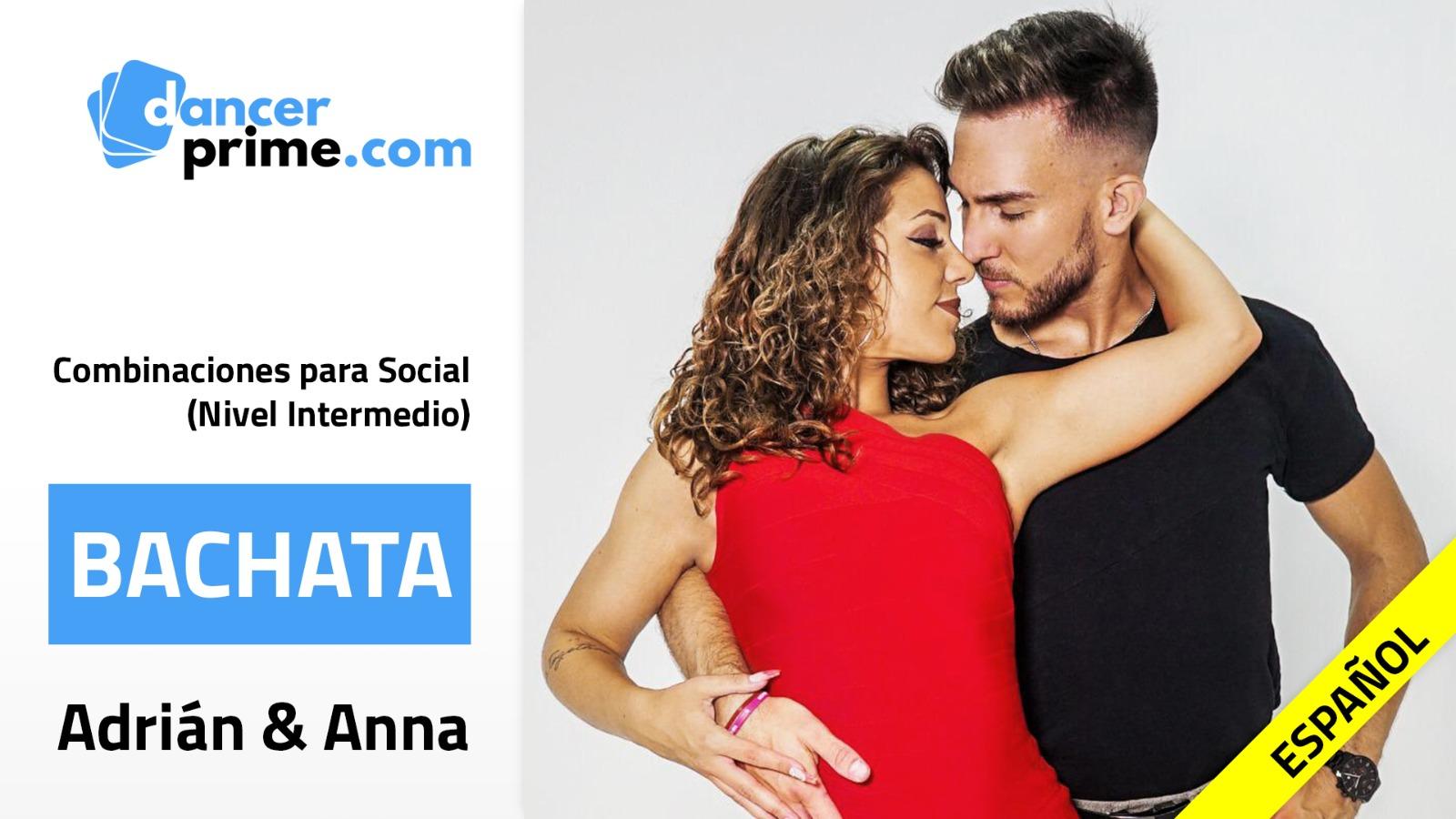 Adrian y Anna curso Bachata